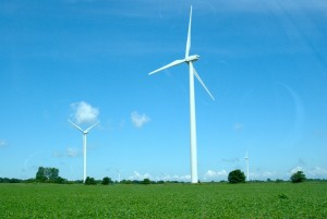 wind turbine courtesy of Patrick Finnegan via flickr