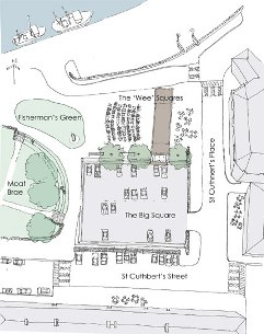 proposed plan of harbour square