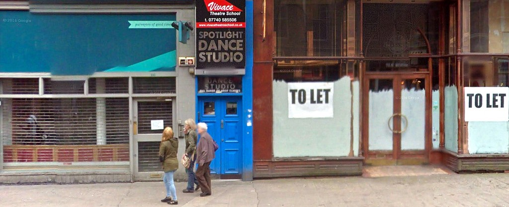 sauchiehall vacant shops