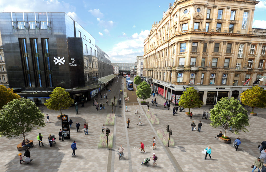 Argyle Street at Buchanan Street view as proposed
