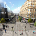 Glasgow city centre Avenues: initial design proposals for Argyle Street