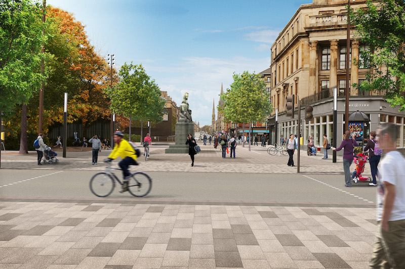 St Georges Place visualisation