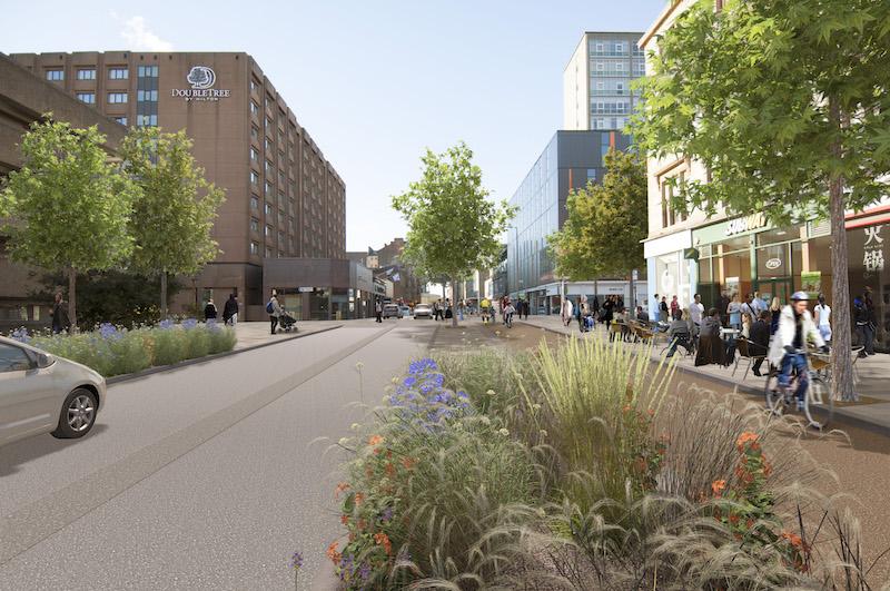 Cambridge Street visualisation